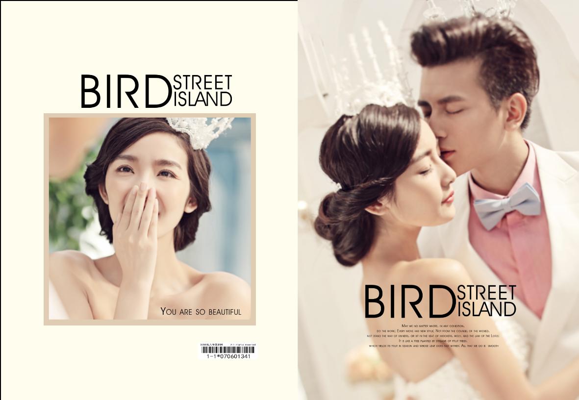 BIRD STREET ISLAND 时尚婚纱模板 浪漫爱情-7 你如此美丽 最美爱(图可换)